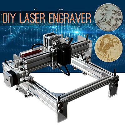 17*20cm 200MW Mini DIY Laser Engraving Cutting Engraver Cutter Printer Machine