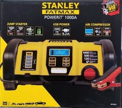 Stanley 1000 Peak Amp Professional Power Station