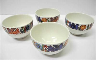 VILLEROY & BOCH Acapulco Set of 4 Porcelain Rice Bowls