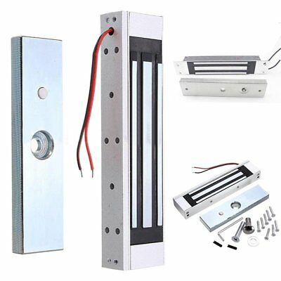 Single Door 12V Electric Magnetic Electromagnetic Lock 180KG (350LB) Holding BU