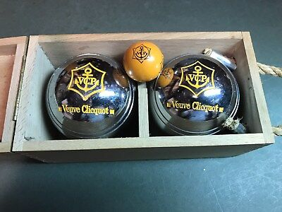 Vueve Clicquot Petanque Ball Set