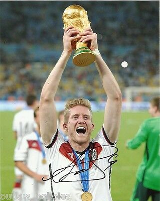 Germany Andre Schurrle Autographed Signed 8x10 Photo COA