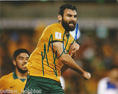 Australia Mile Jedinak Autographed Signed 8x10 Photo COA