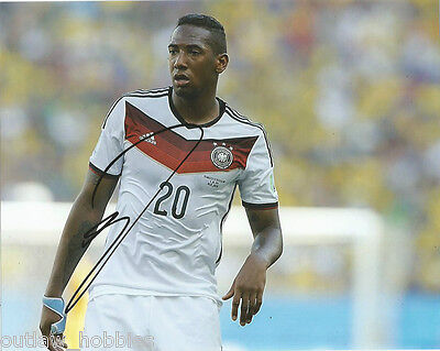 Germany Jerome Boateng Autographed Signed 8x10 Photo COA