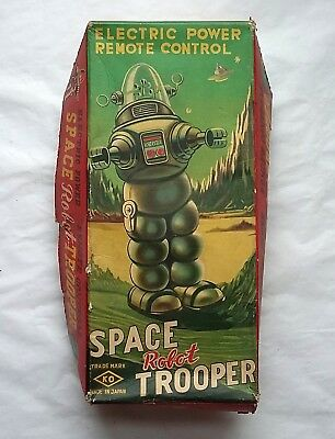 Vintage Box Top Only for Space Robot Trooper KO Toys Japan