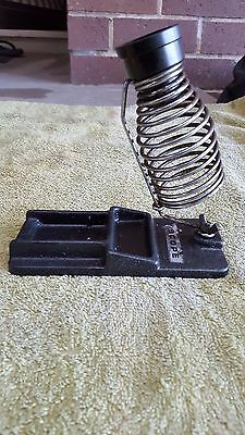 Vintage Scope Soldering Iron Stand Cast Iron Base Made in Australia