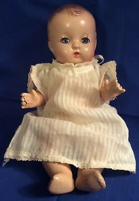 """Vintage EFFANBEE  PATSY BABYETTE  Composition 9"""" Doll"""