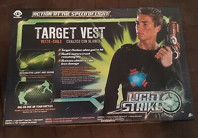 New WowWee LIGHT STRIKE Laser Tag Target Vest - Interactive - free shipping
