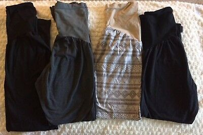 21 piece lot maternity clothes/Varied sizes to fit throughout pregnancy/M,L,XL