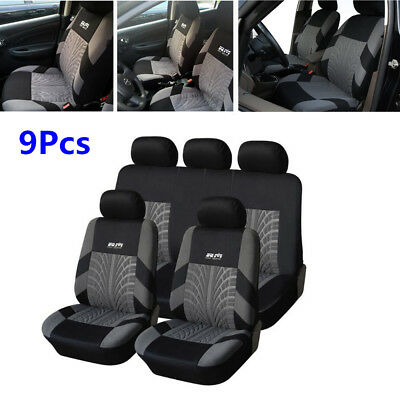 Standard Edition Washable Embroidery Car Seat Protector Covers Cushion Full Set