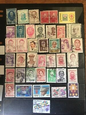 stamps Philippines - used - lot 482