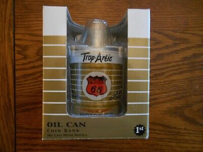 Phillips 66 Oil Can Trop-Artic Coin Bank Die-Cast Metal 5 gal Replica NIB