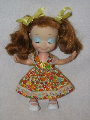 """8"""" Vintage Uneeda Red Hair Little Miss Sophisticates Doll"""