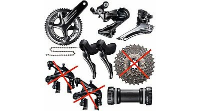 2017 Shimano Dura Ace Group 9100 11s Groupset Kit Group Set