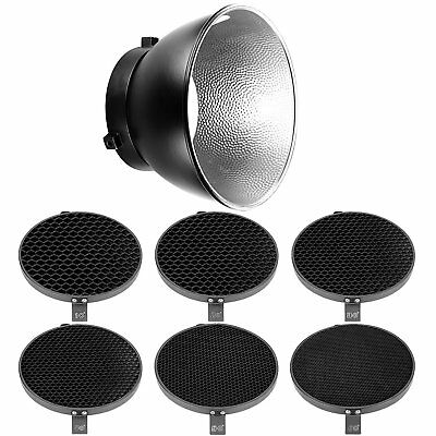Neewer Reflector Diffuser 17cm Honeycomb Grid for Bowens Mount Strobe Flash