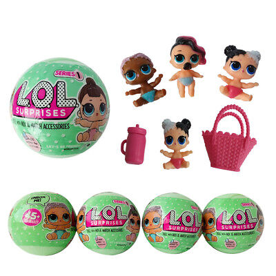 1PC LOL Lil Outrageous 7 Layers Surprise Ball Doll Blind Mystery Toys for Kids