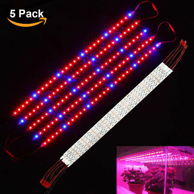 DE 10pcs 0.5M 50W LED Strip Grow Pflanzen lampe Licht Leuchte Licht Bar DC12V