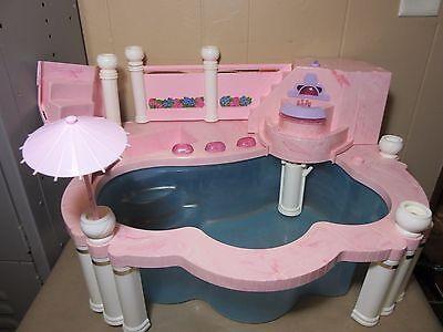Vintage 1993 Mattel Barbie Fountain Pool