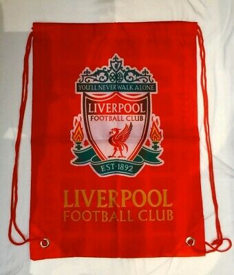 LIVERPOOL Training Bag Gym Sack Bag Swimming Drawstring Beach Backpack
