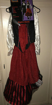 Totally Ghoul Woman, Pirate Beauty Costume, One Size