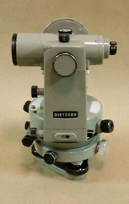 Diezgen Theodolite Model 6170, Surveying