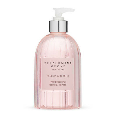 NEW Peppermint Grove Freesia & Berries Hand & Body Wash 500ml