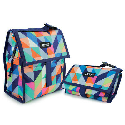 NEW Packit Freezable Paradise Breeze Lunch Bag