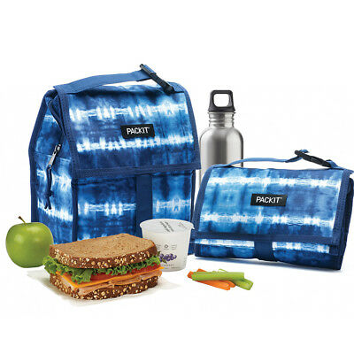 NEW Packit Freezable Tie Dye Lunch Bag