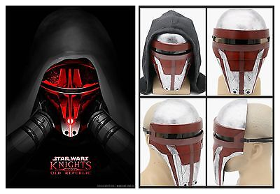 Star Wars Darth Revan Mask Resin Marvel Movie COSplay Halloween Props XCOSER