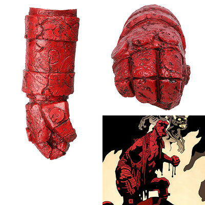 Hellboy Arm With Glove Costume Accessories Movie Cosplay Adult Size XCOSER Prop