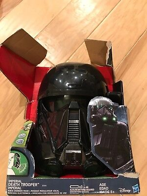 Death Trooper voice changer mask from Rogue One Star Wars imperial Hasbro helmet
