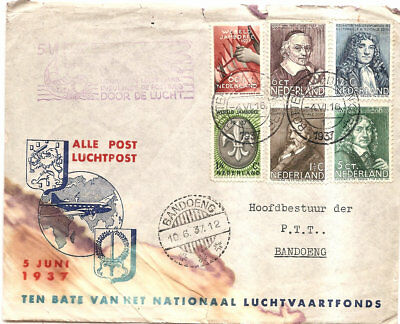 Air Cover from Rotterdam to Dutch Indies 1937
