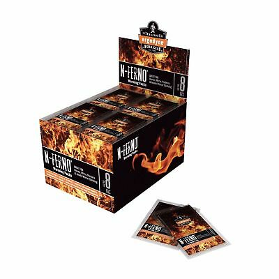 Ergodyne N-Ferno 6990 Hand Warming Packs, 12 Hour Heat, All Natural, Case of 40