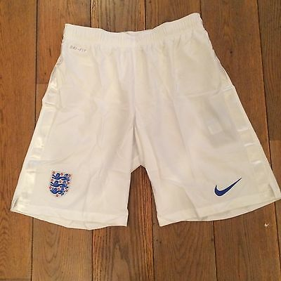 Short football Angleterre England Domicile Home Banc Taille M  Neuf