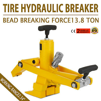 Tractor Truck Tyre Hydraulic Bead Breaker Agricultural Portable Farm HOT POPULAR