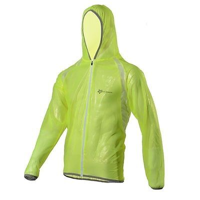 RockBros Bicycle Cycling Jacket Waterproof Windproof Wind Coat Rain Coat Green