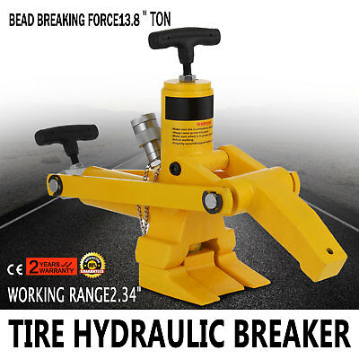 Tractor Truck Tyre Hydraulic Bead Breaker Portable Farm Commercial  UPDATED