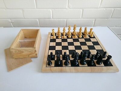 Chess Set with Wooden board and Chess Pieces