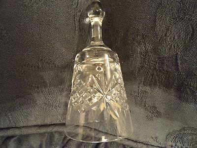 Crystal Tudor Glass  Bell