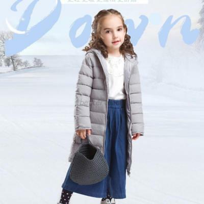 Toddle Kids Hooded Down Winter Puffer Coat Boys Girls Thicken Jacket Outwear