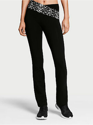 Pantalon sport slim bootcut croisé Everywhere victoria's secret taille M
