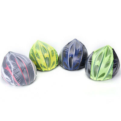 Waterproof High Visibility Reflective Bicycle Helmet Rain Covers Windproof Hat J