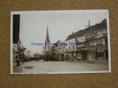 1900s Photo Postcard High Street looking East,Colchester,Essex.