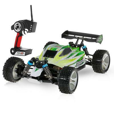 WLtoys A959-B 2.4G 1/18 Scale 4WD 70KM/h Electric RTR Off-road Buggy RC Car D0U7