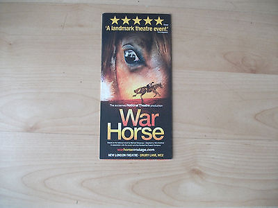**War Horse The Musical Flyer At New London Theatre**