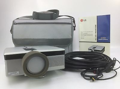 Lg Lp-Xg2 Lcd Projector - 156 Hours Used - No Remote