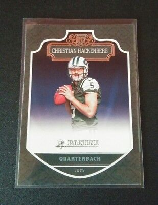Christian Hackenberg Jets Rookie RC #280 Panini 2016 NFL Football Card