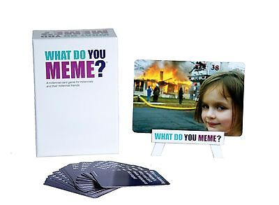 What Do You Meme ? Core Card Game Basic Main Game+ Basic Bitch Pack Expansion
