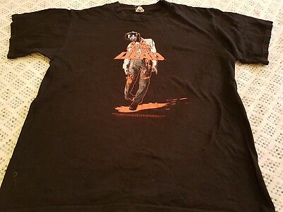 Dawn of the dead. George A Romero ZOMBIE T shirt. Halloween size medium