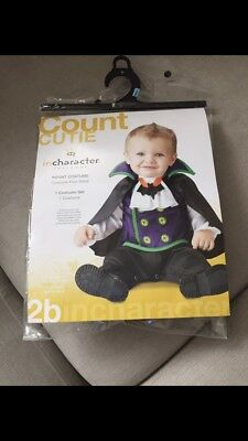Little Vampire Halloween Costume Baby Toddler 6-12 Months